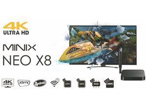 X8 XBMC quad core Android TV Box Quad Core Amlogic S802 2GB/8GB Mali450 GPU 4K HDMI Bluetooth WiFi Android 4.4 KitKat Mini PC 1080P