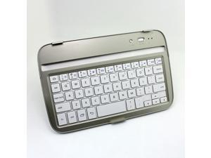 Mobile Bluetooth Keyboard Aluminum Slim Thin Bluetooth 3.0 Wireless Keyboard Case For Samsung Galaxy Note 8.0 Tablet