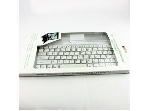 3 in 1 design Aluminum Wireless Bluetooth Keyboard Stand Cover Case For Samsung Galaxy Note 10.1 N8000 N8010 N8013 Keyboard Case
