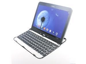 Slim Thin Aluminum Mobile Bluetooth Keyboard Wireless Keyboard Case Stand For Samsung Galaxy Tab3 10.1