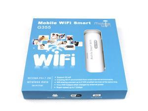 Mobile Smart WiFi G355 Mini 3G Wireless Network Adapter Pocket Router USB Wifi Router Wi-Fi AP WPS