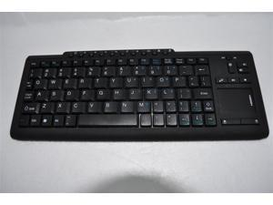 MC-201 Mini Wireless Keyboard 2.4G Portable Multimedia Keyboard with Touch Pad