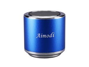 Bluetooth Speakers Portable Built-in Usb Disk Micro-sd card player,3.0W,Disk/TF card, support MP3 format songs,in MP3,MP4 & mobile phone, FM radio function MN06 Blue
