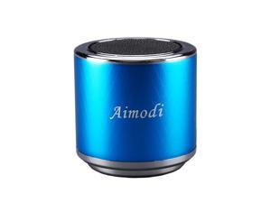 Bluetooth Speakers Portable Built-in Usb Disk Micro-sd card player,3.0W,Disk/TF card, support MP3 format songs,in MP3,MP4 & mobile phone, FM radio function MN06 Light Blue