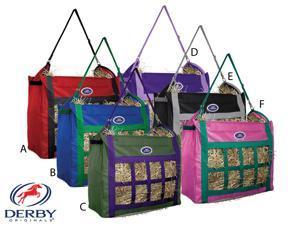 Derby Originals Top Load Nylon Horse Hay Bag Purple/ Lavender