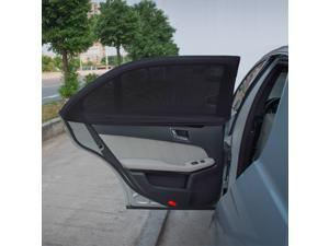 TFY Side Window Sunshade - Fits Most Car Models - 2 Pieces