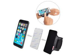 TFY Universal Open-Face Sport Armband for iPhone 5 - iPhone 6 - iPhone 6 Plus - Samsung Galaxy S4 (I9500) S5 (G900) / S7 - Samsung Galaxy Note 2 / 3 / 4 - Nexus 5 / 6 - Samsung Galaxy A5 / A7 and More