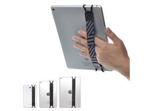 """TFY Security Hand-Strap for Tablet PC - iPad (New iPad / iPad Mini & Mini 2 & Mini 3 / iPad Air / iPad Air 2 / iPad Pro 9.7"""") - Samsung Tablet Pcs - Nexus 7 / Nexus 10 and More, Black"""