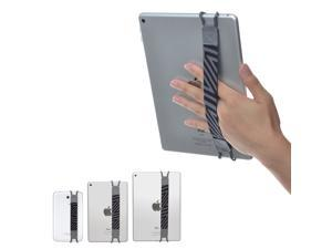 """TFY Security Hand-Strap for Tablet PC - iPad (New iPad / iPad Mini & Mini 2 & Mini 3 / iPad Air / iPad Air 2 / iPad Pro 9.7"""") - Samsung Tablet Pcs - Nexus 7 / Nexus 10 and More, Grey"""