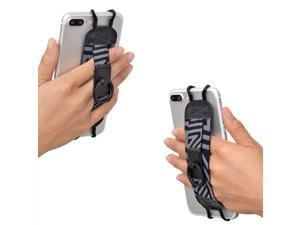TFY Security Hand Strap with 360°Rotation Metal Ring Finger-Grip Holder & Stand for iPhone 6 Plus / iPhone 6s Plus / iPhone 7 Plus