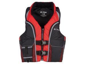 ONYX ADULT SELECT VEST RED  L 117200-100-040-15