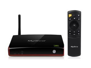 MyGica ATV 1800e Android TV Box, Quad Core CPU + Octa Core GPU Ultra Smart Streaming Media Player Plus+ with 4K Ultra HD Playback Support, Powered by Android™ 4.4.2 with XBMC/KODI