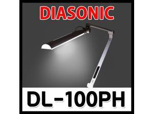 DIASONIC DL-100PH Stand LED Office Desk Lamp 100~240V FREE Int Multi Plug - Silver USB Out-Put Professional LED Desk Lamp with High Brightness