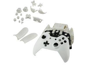 White Controller Shell Case Cover Replacement Kit for Xbox One Wireless Controller