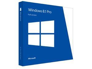 Microsoft Windows 8.1 Professional 64 bit Full Version OEM French