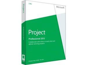 Microsoft Project Professional 2013 Open Business