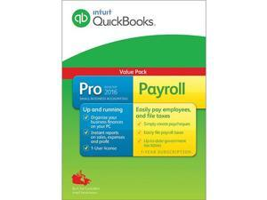 Intuit QuickBooks Professional 2016 with Payroll (Canadian version)