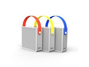 RIV ANTZ Q1 Vigor Bluetooth Portable Speaker, With 2 full-range speakers and 1 Passive Bass Radiator Built-in ...
