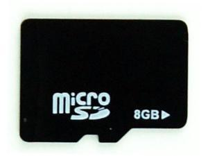 Riv 8GB MicroSD Flash Card Card with Adapter