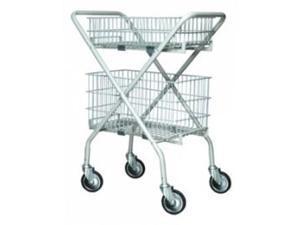 Lumex Versacart Folding Utility Cart / Wire Basket - 1Each - 7010A - Versacart