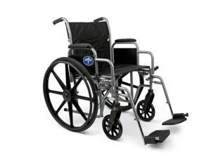 "K3 Basic Lightweight Wheelchairs, WHEELCHAIR,K3 BASIC,16"",DLA,ELR - 1 EA"