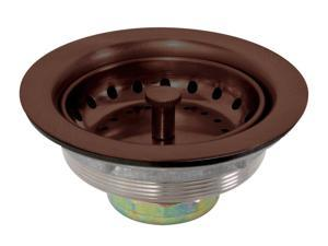 Premier 122008 Stainless Steel Sink Strainer, Oil Rubbed Bronze