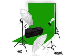 Lusana Studio 10 x 12 ChromaKey Green Screen Digital Photo Video Light LNG3216