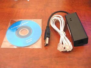56K USB V9.0 V.92 External Dial Up Voice Fax Data Modem for Window XP WIN7
