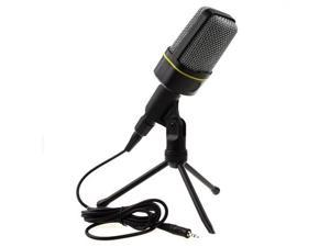 Professional Podcast Studio Microphone Mic w/ Stand Skype Webcast Youtube Video