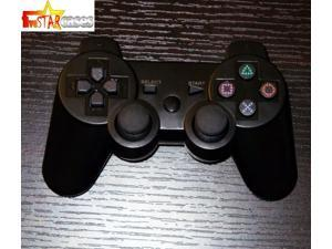 Playstation III Ps3 Doubleshock III Wireless Controller Black