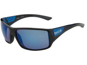 BOLLE TIGERSNAKE SUNGLASSES (POL SANDSTONE GUN LENS SHINY BLACK/MATT BROWN)