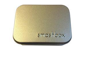 Smashbox Small Silver Tin Makeup Cosmetic Case
