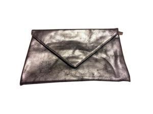 Smashbox Envelope Style Silver Makeup Cosmetic Bag