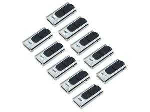 Litop Pack of 10 Silver Color 4GB USB Flash Drive USB 2.0 Memory Disk