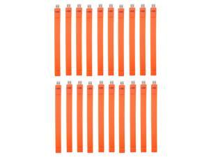Litop 1GB Pack of 20 -Orange  USB 2.0 Flash Drive Wrist Band Design with 20 Free Wrist Strap and 20 Free Necklace Strap