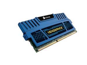 Corsair Vengeance Blue 16 GB (2x8 GB) DDR3 1600MHz (PC3 12800) Desktop Memory CMZ16GX3M2A1600C10B