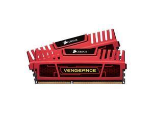 CORSAIR Vengeance 8GB (2 x 4GB) 240-Pin DDR3 SDRAM DDR3 1600 (PC3 12800) Desktop Memory Model CMZ8GX3M2A1600C9R