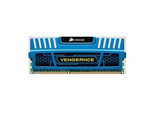 Corsair Vengeance Blue 4GB (1x4GB) DDR3 1600 MHz (PC3 12800) Desktop Memory (CMZ4GX3M1A1600C9B)