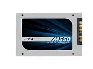 Crucial M550 256GB 2.5-Inch 7mm SSD SATA (with 9.5mm adapter) Internal Solid State Drive CT256M550SSD1