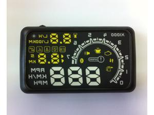 ActiSafety Car HUD Head Up Display ASH-4C-BT Diagnostic Tools OBDII cell phone