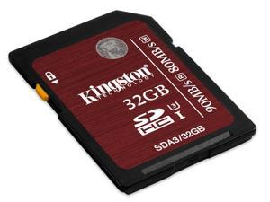 Original Kingston SDHC/SDXC Card Class 3 UHS-1 U3 SDA3 Flash Memory Card Professional HD video and photography