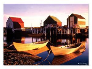 Golden Docks 500 pcs. - Jigsaw Puzzle by Melissa & Doug (9031)