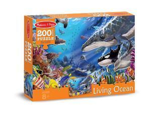 Living Ocean 200 pcs. - Jigsaw Puzzle by Melissa & Doug (8970)