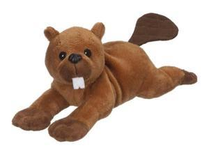 "Beaver Bean Bag 8"" - Stuffed Animal by Ganz (H12659)"