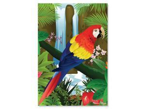 Tropical Parrot 200 pcs. - Jigsaw Puzzle by Melissa & Doug (8975)