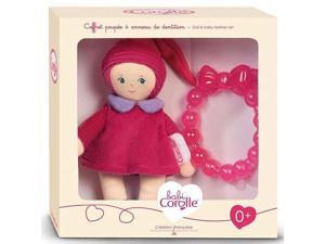 Grenadine Mini Miss & Baby Teether - Infant Baby Toy by Corolle (BKD18)