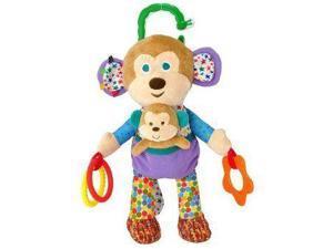 Developmental Monkey 11 Inch Baby Stuffed Animal by Kids Preferred (55143)