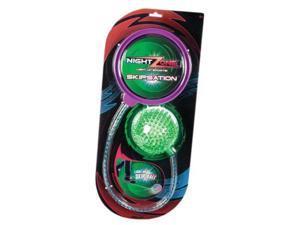 Night Zone Skipsation Light Up Skip Ball - Kids Sports Toy by Toysmith (56359)