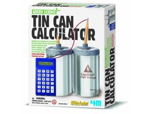 Tin Can Calculator - Science Kit by Toysmith (5579)