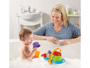 Stackin' Tubtime Boat - Bath Toy by Fisher Price (BFH59)